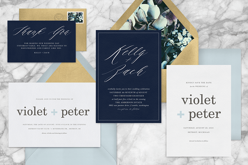 20 Simple Invitation Styles that Stand Out