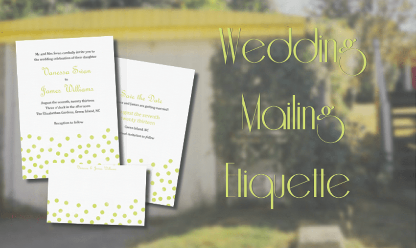 Online wedding invitation etiquette guide stationers we are learning that online wedding invitations are moving into the 21st century and finding a place in modern etiquette rules stopboris Choice Image