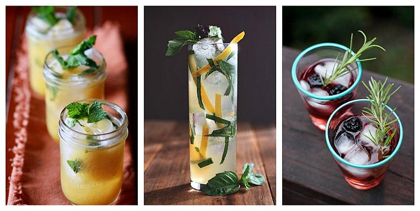 Fresh cocktail trend