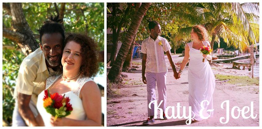 katy and Joel's wedding