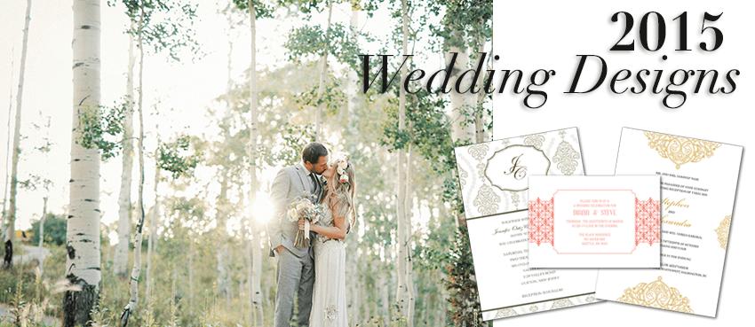 2015 wedding design header