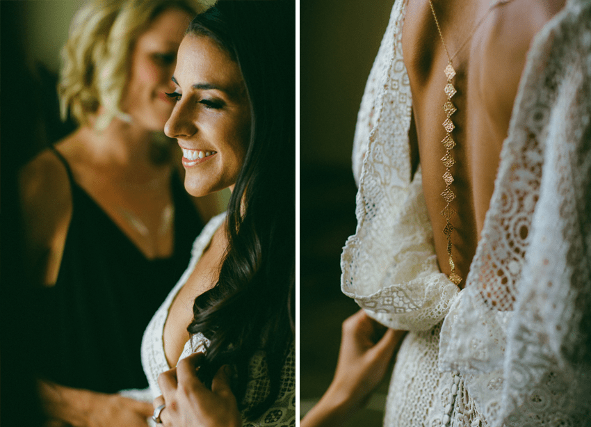 Originality is so important on your wedding day! Love this custom designed dress | Caroline Ghetes Photography