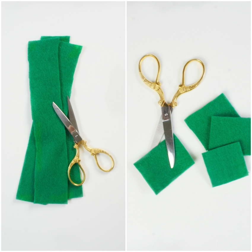 DIY St. Patrick's Day Clover - Greenvelope and Marabou Design