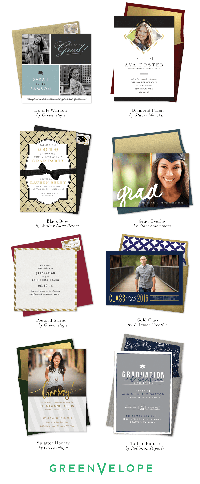 Graduation Announcements and Graduation Party Invitation Ideas ...