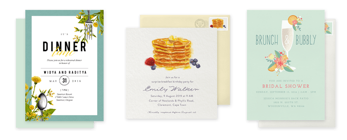 Planning a breakfast dinner party at home