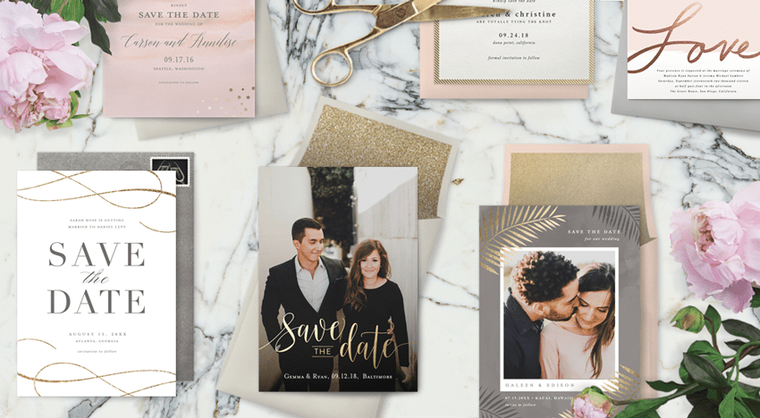 Sending Save The Dates