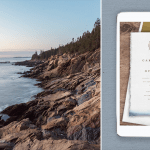 Acadia National Park Stationery