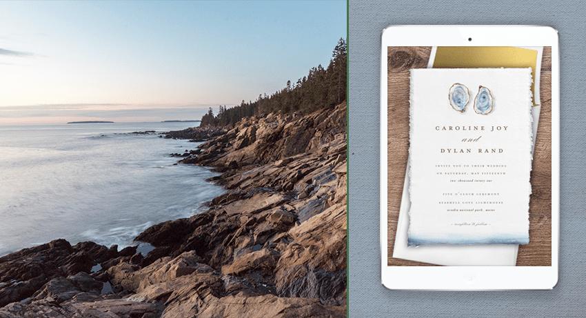 Acadia National Park Stationery