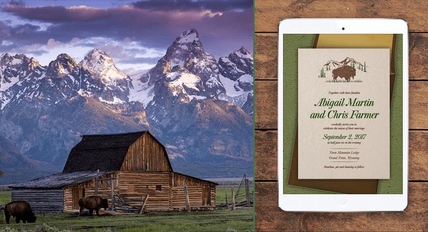 Grand Teton National Park Stationery