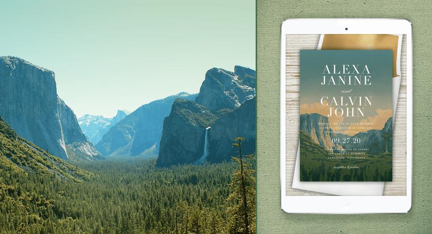 Yosemite National Park Stationery
