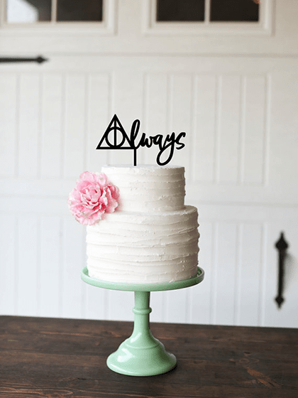 Harry Potter Cake Topper