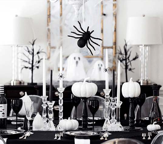 Creepy crawly halloween invitation