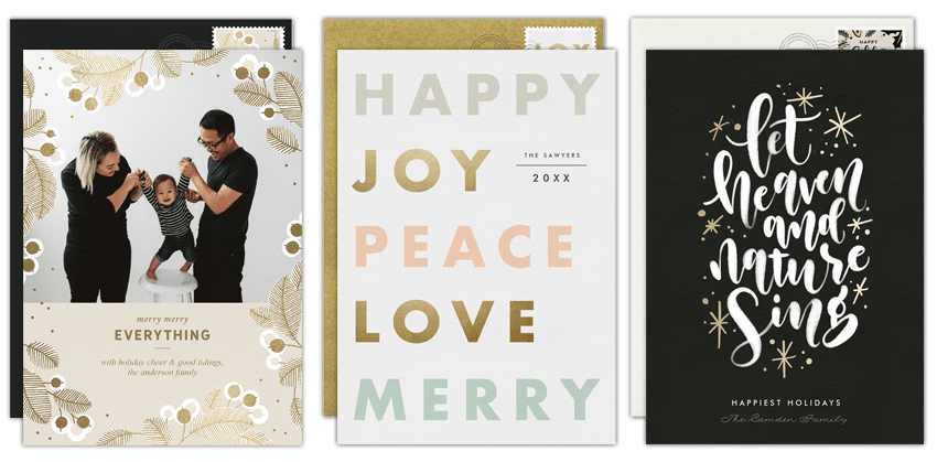 personalized holiday greeting messages