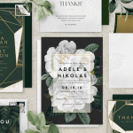 New Online Wedding Invitations from WonderWed and Greenvelope