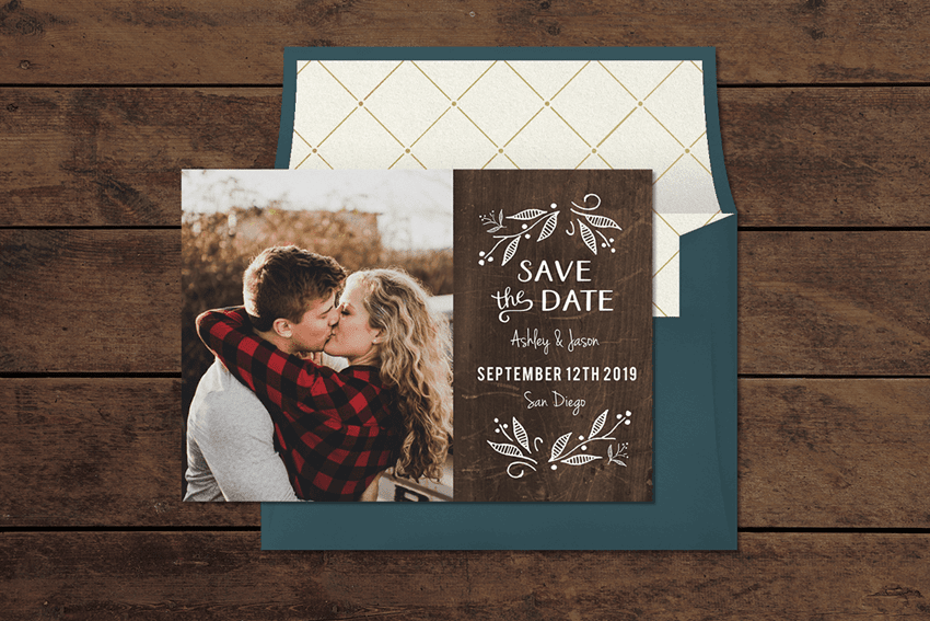 Most popular save the date