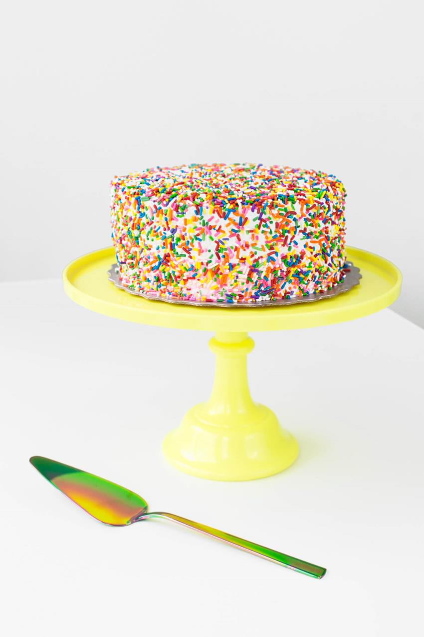 Making over a store bought cake