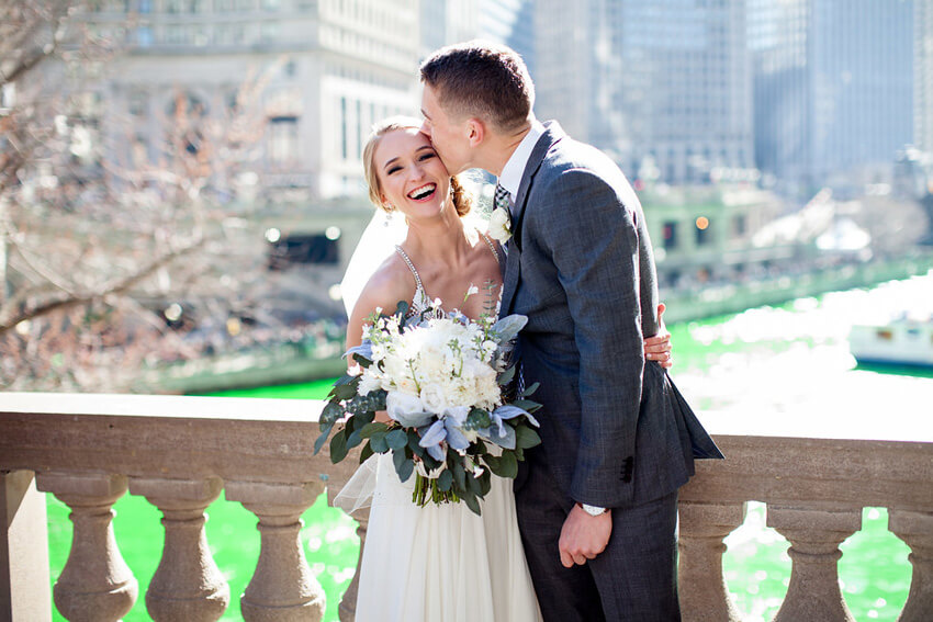 St. Patrick's Day Wedding