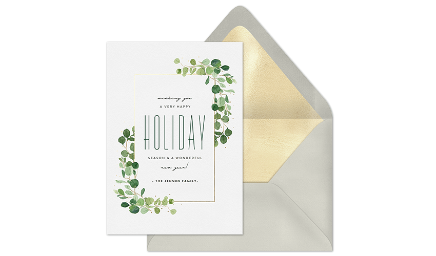 Most Popular Holiday Cards for 2018
