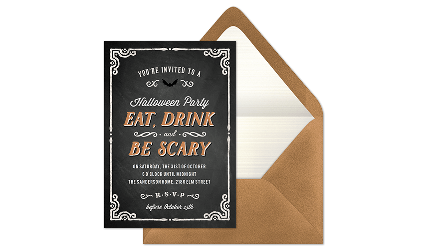Most Popular Halloween Invitations in 2018
