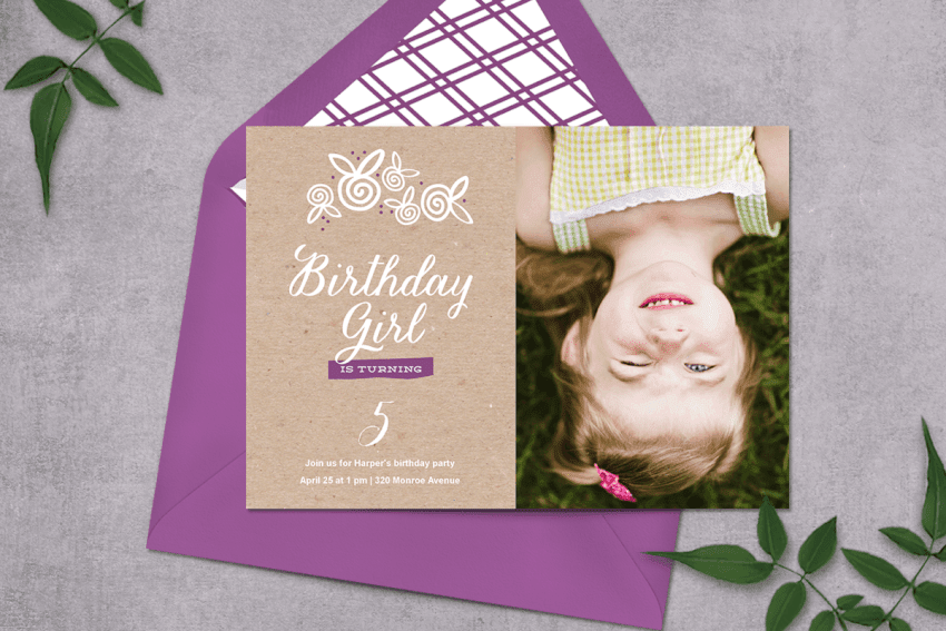 Birthday Party Templates for Kids