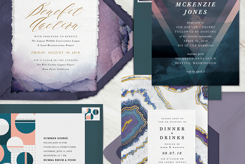 Colin Cowie Collection Invitations