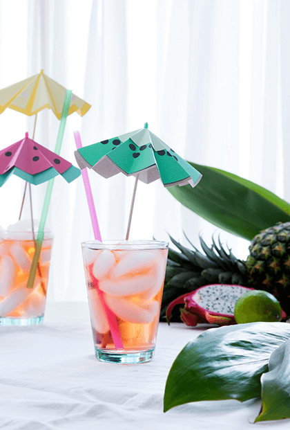 DIY Essentials for a Colorful Late-Summer Party