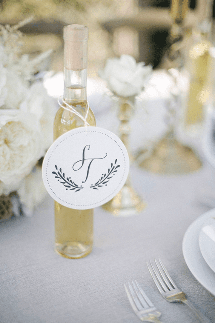 DIY Limoncello Wedding Favor