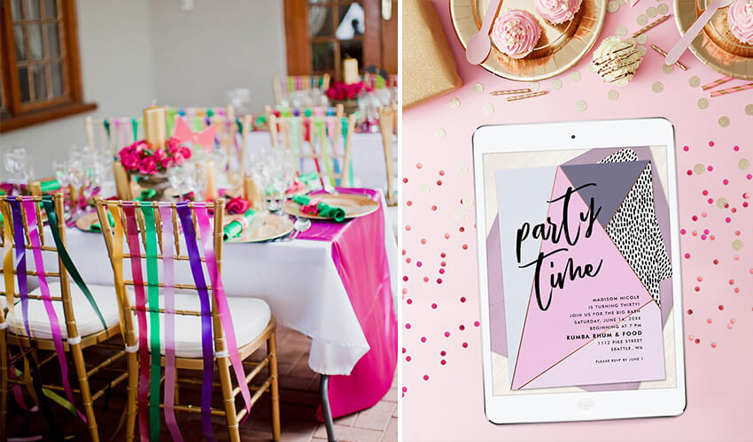 Easy Ideas and Invites for a DIY Springtime Birthday Party