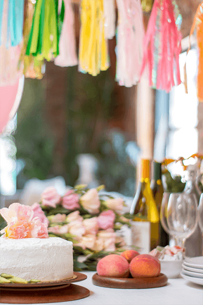 Easy simple Ways to Add a pop of Color to Your Party