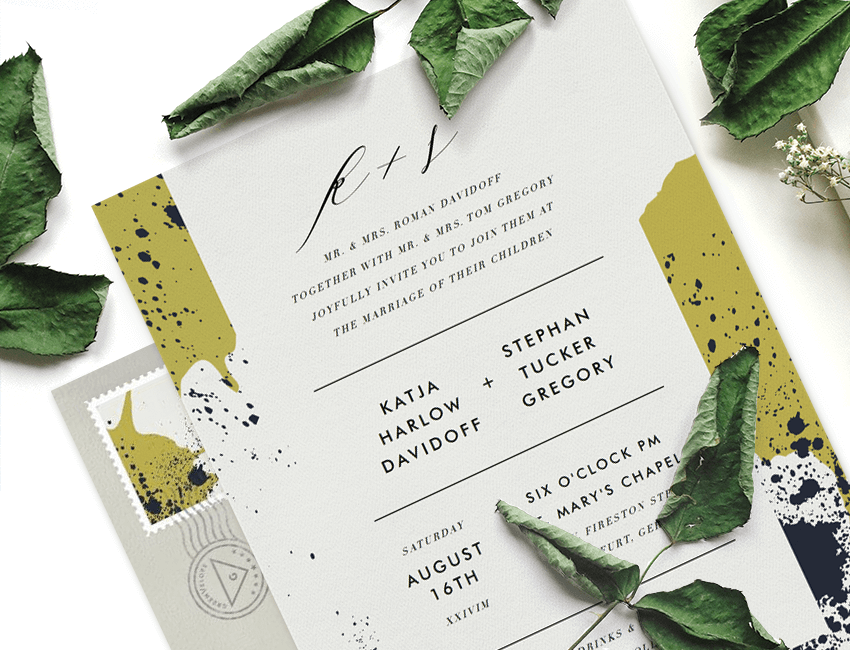 Designer Tips for Laying Out Invitation Text