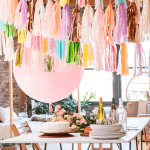How to Add a pop of Color to Your Party
