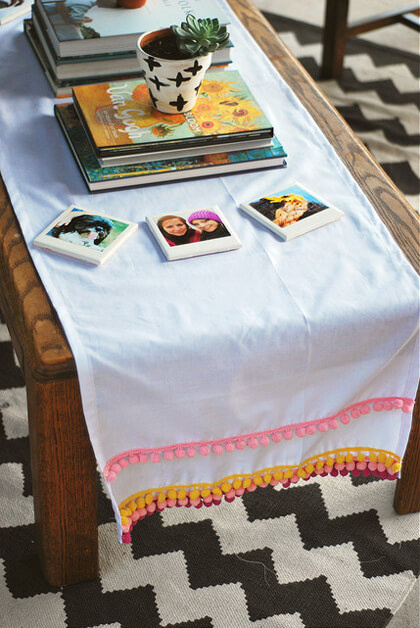 How to Make Easy DIY chic Table Runners for Your Next Party