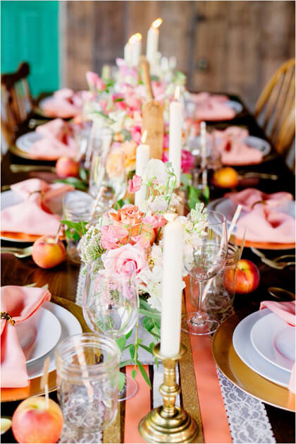 How to Make Easy DIY ribbon Table Runners for Your Next Party