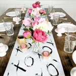 How to Make Easy cheap DIY Table Runners for Your Next Party