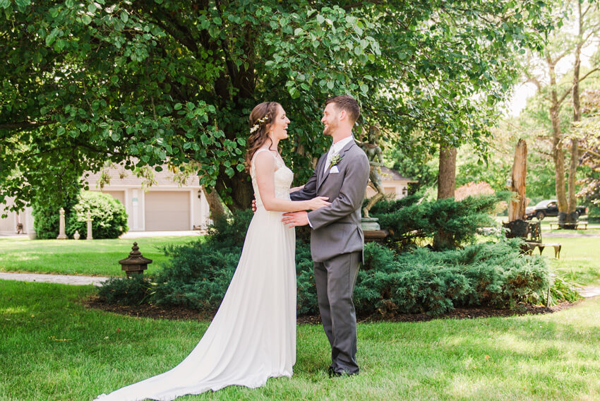 New York Wedding with Woodland-Inspired Details