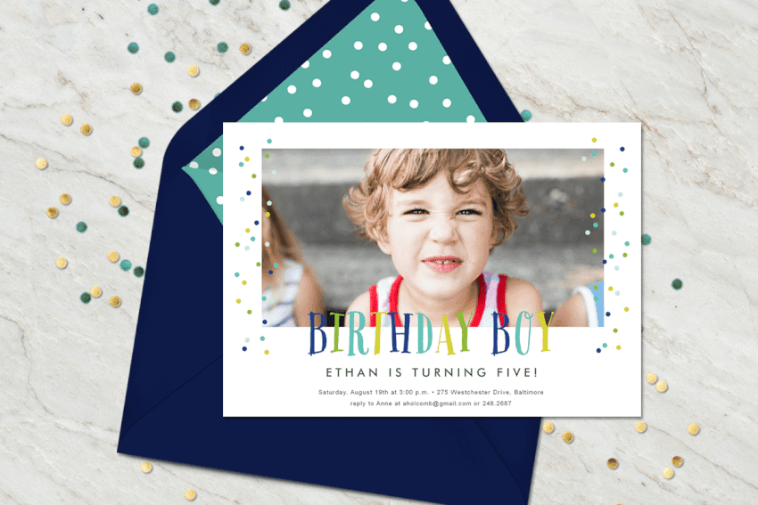 Popular Birthday Party Templates for Kids