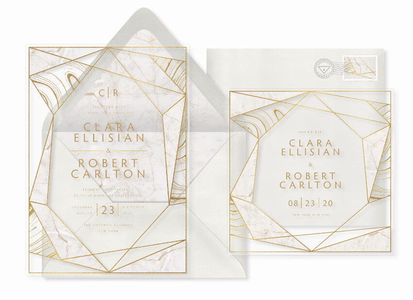 15 Unique Wedding Invitations You're Sure to Love - STATIONERS