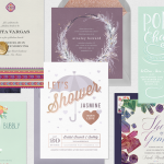 Bridal shower ideas: six themed shower invitations
