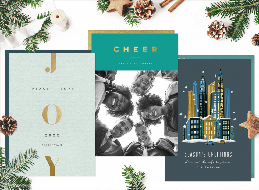 Company Christmas Cards.13 Business Christmas Cards To Spread Company Cheer And