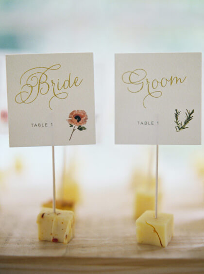 Unique And Fun Escort Cards And Seating Chart Displays