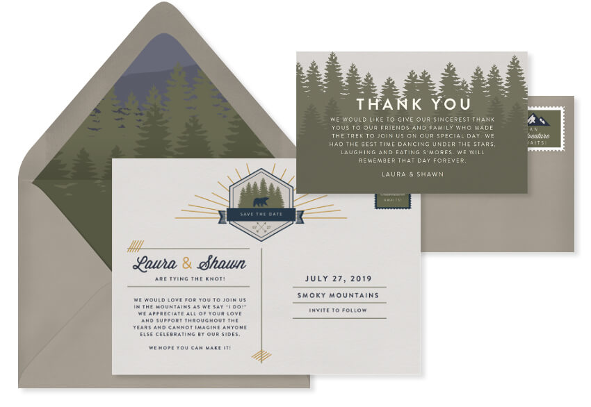 great-smokey-mountains-national-park-invitation