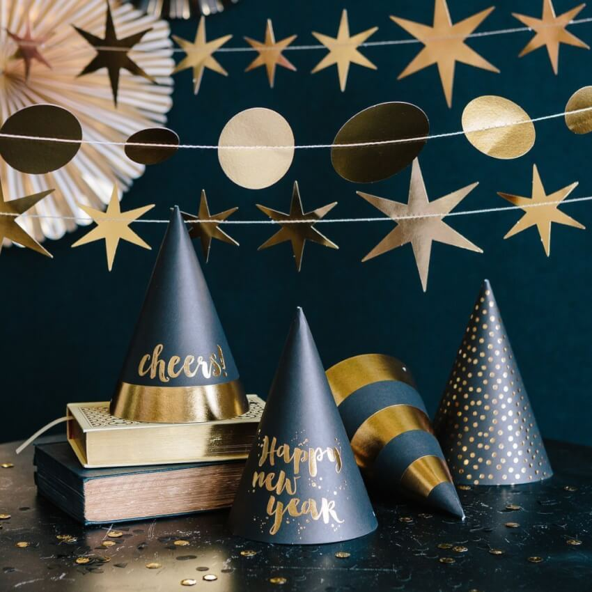 Easy Decorations for a Fun and Festive New Year's Eve Party