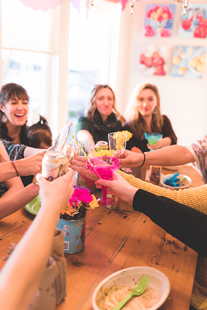 how to have a nontraditional baby shower