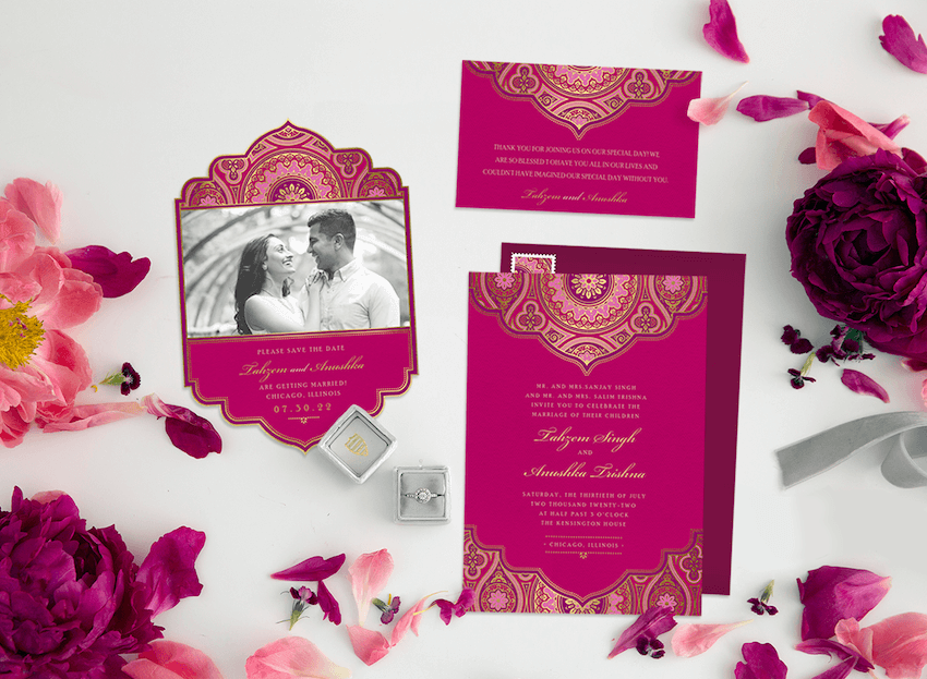 10 Intricate Indian Wedding Invitations for Your Big Weekend