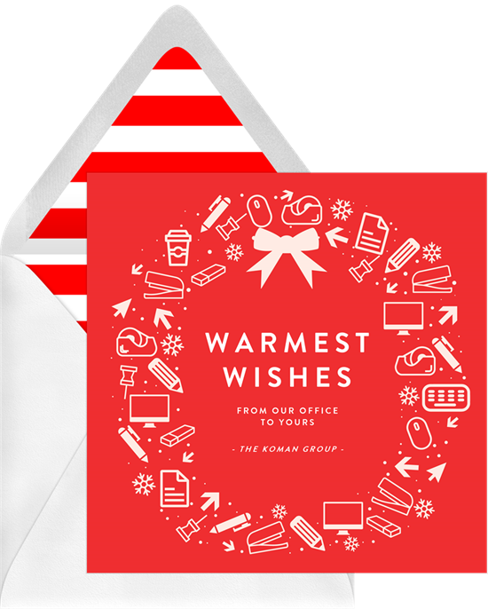 13 Business Christmas Cards To Spread
