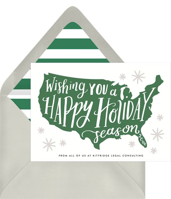 13 Business Christmas Cards To Spread Company Cheer And Gratitude
