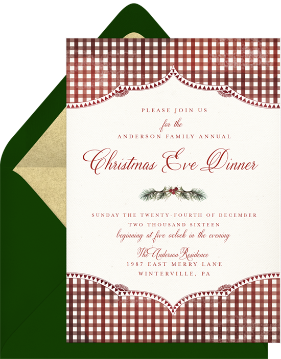 Holiday Party Invitations To Inspire Your End Of Year Bash