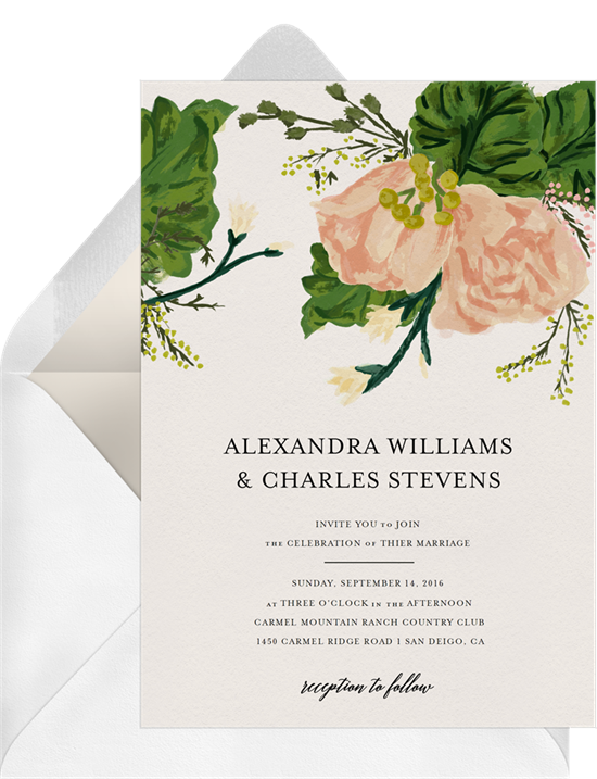20 Rustic Wedding Invitations For Your Shabby Chic Nuptials