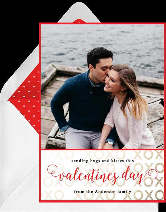 Valentine's Wishes Ecard from Greenvelope
