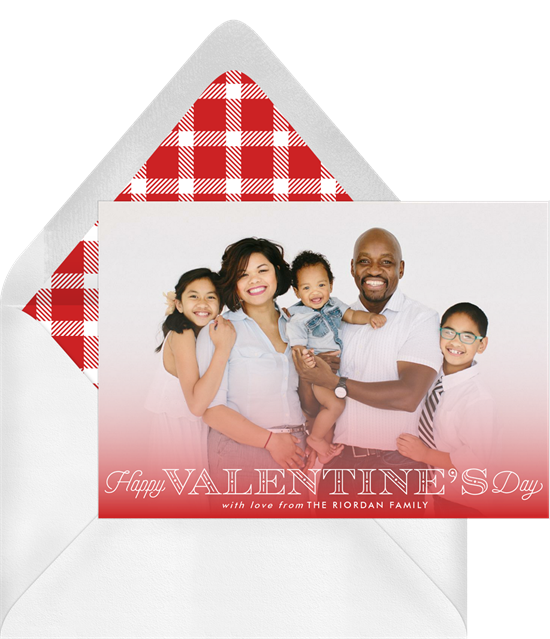 A way to make your Valentine's Day cards funny: Stage a funny photo shoot
